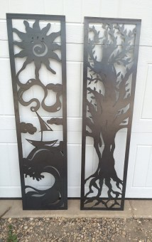 Stewart Signs and Metal Art - metal art SK