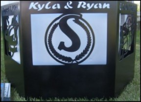 Fire rings - fire pits -  Stewart's Scenic Signs and Metal Art